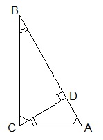 Г8.VII(3)-1. Пропорциональные отрезки в прямоугольном треугольнике