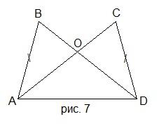 Г7.II(3)-2.1. Третий признак равенства треугольников.