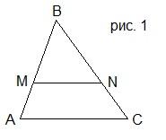 Г8.VII(1)-1. Пропорциональные отрезки. Свойство биссектрисы треугольника